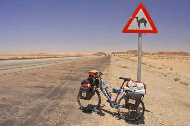 Jordânia - Estrada de camelo-27